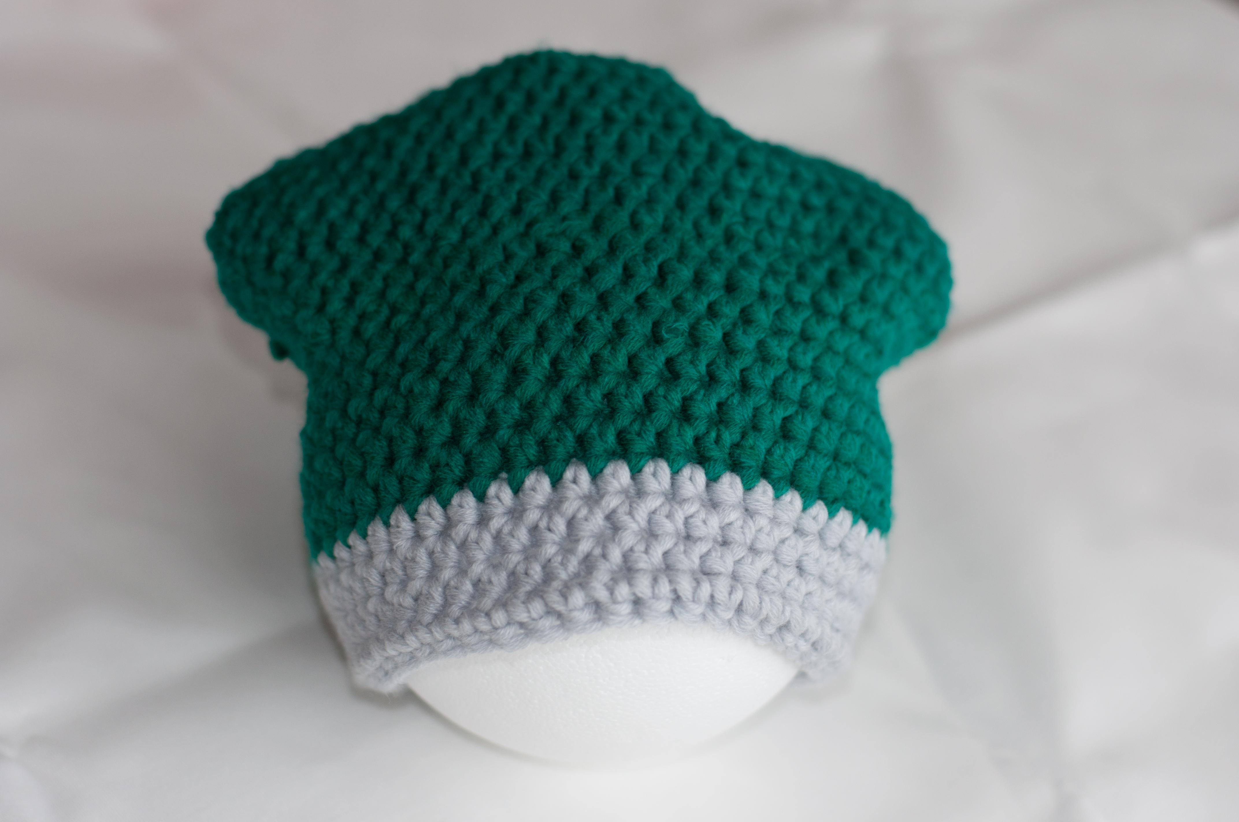 Meine Mütze komplett