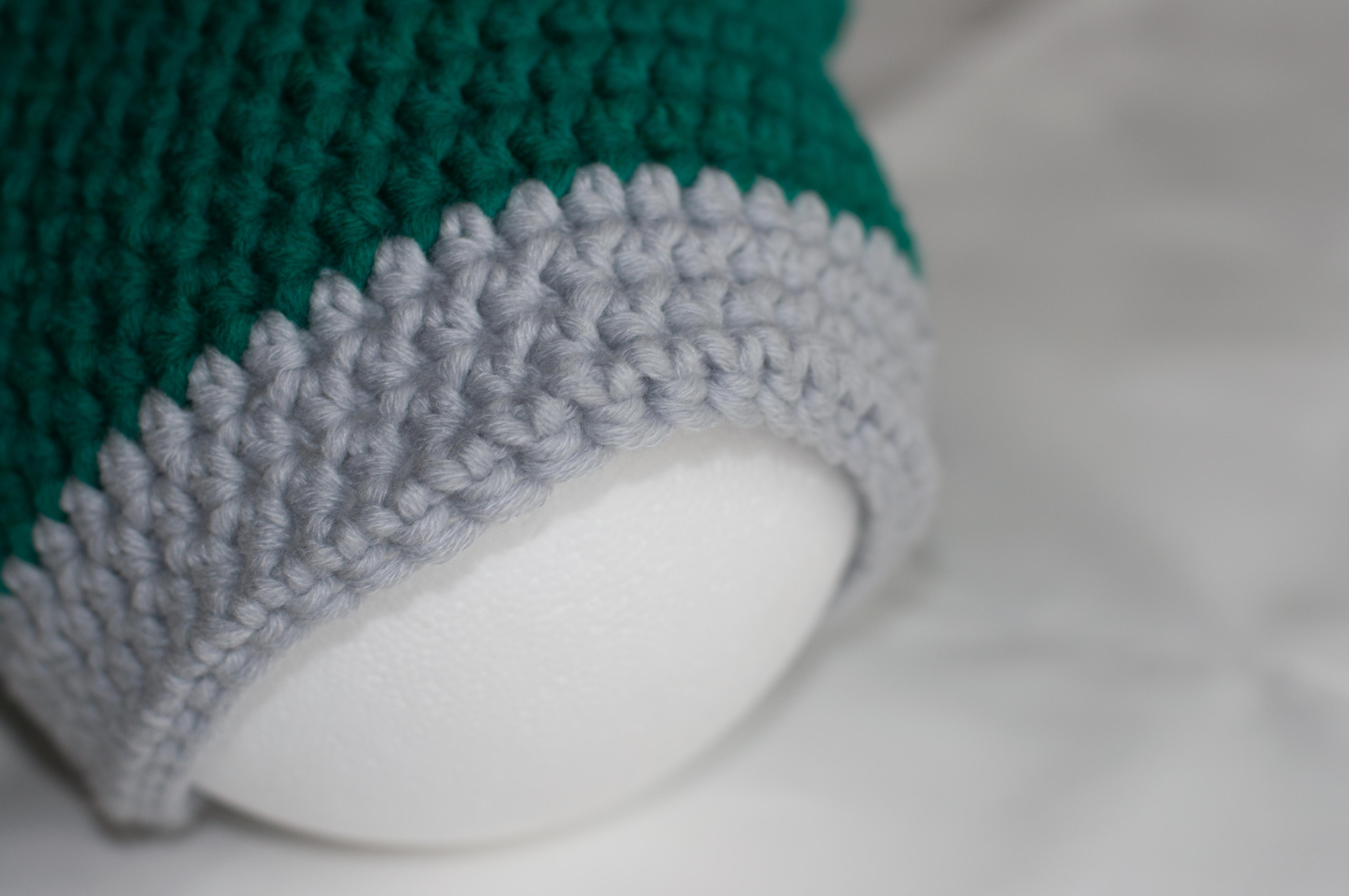 Meine Mütze Detail