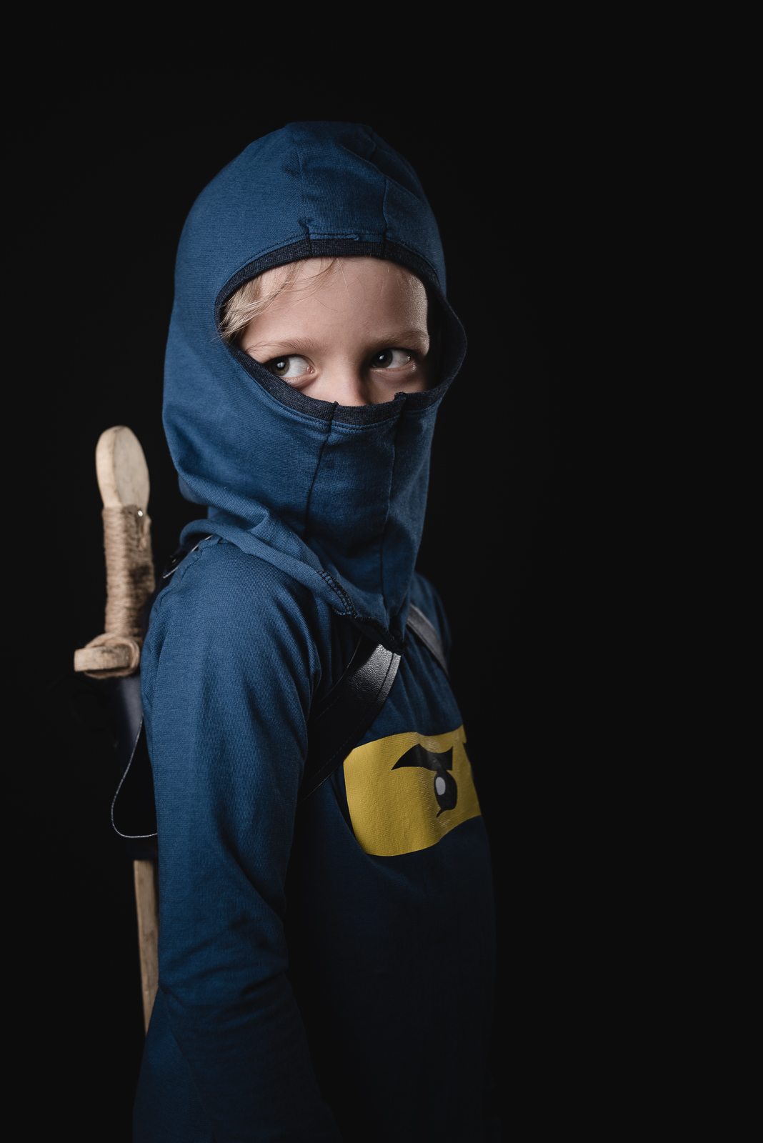 Als Ninja Zum Fasching Stoff Hoff